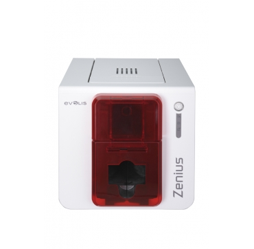 Evolis Zenius Expert rouge